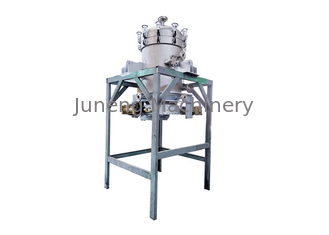 Fluid Precision Filtration Vertical Metal Leaf Filter , Vertical Plate Pressure Filter