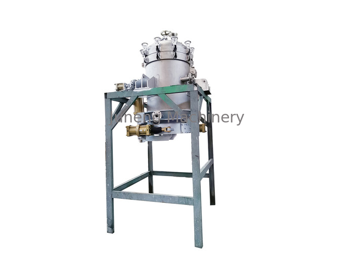 Large Capacity Vertical Pressure Leaf Filters For Painting , Foodstuff